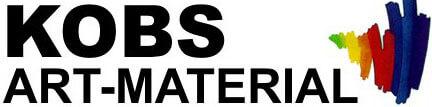 Der schnelle Versandhandel für Künstlerbedarf Art Material Kobs-Logo
