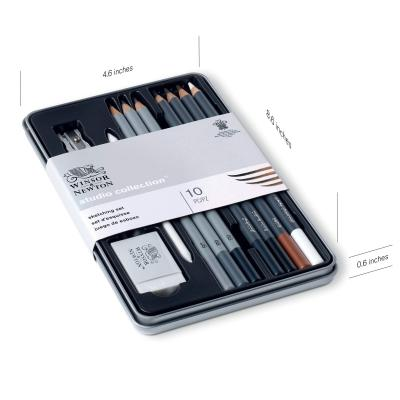 Studio Collection Skizzierstifte 10 teiliges Set Winsor & Newton