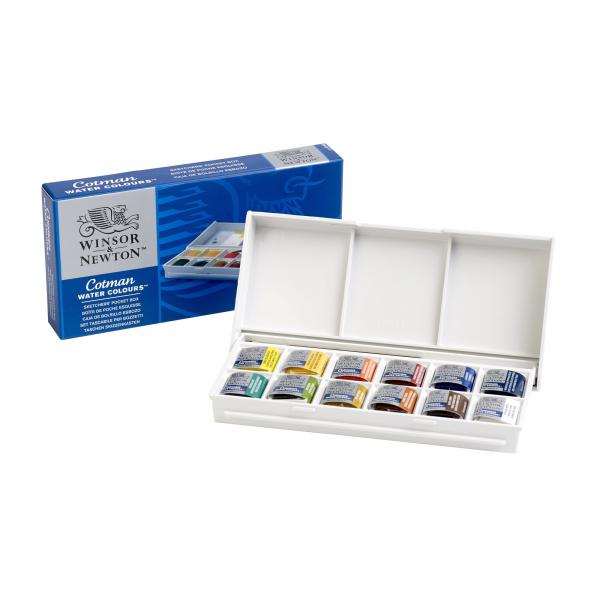 Water Colour Pocket Box Cotman